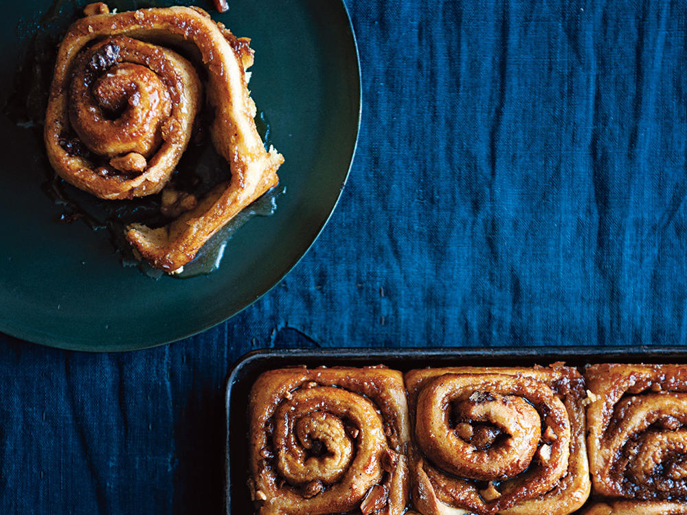 Spiced Cinnamon Rolls with Maple Glaze Recipe