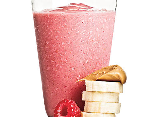 Breakfast-Nutty Berry Smoothie