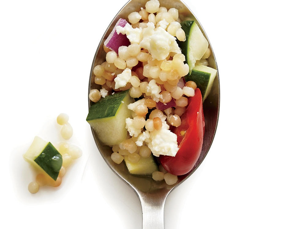 Tomato and Cucumber Couscous