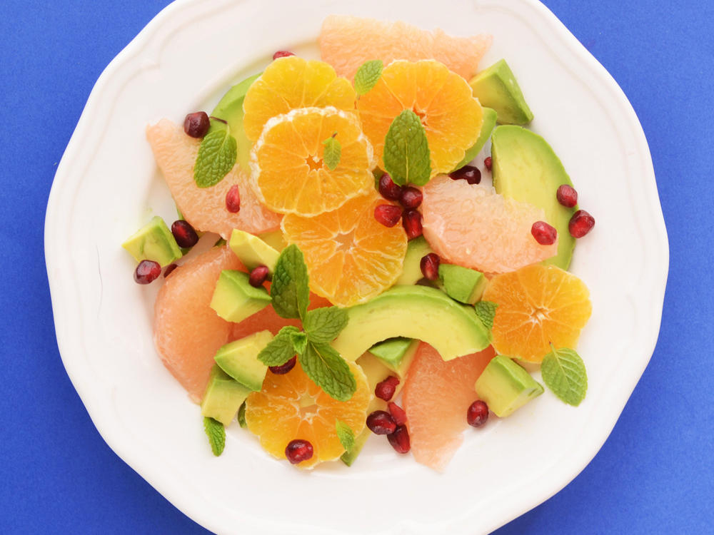 Avocado Citrus Salad with Mint