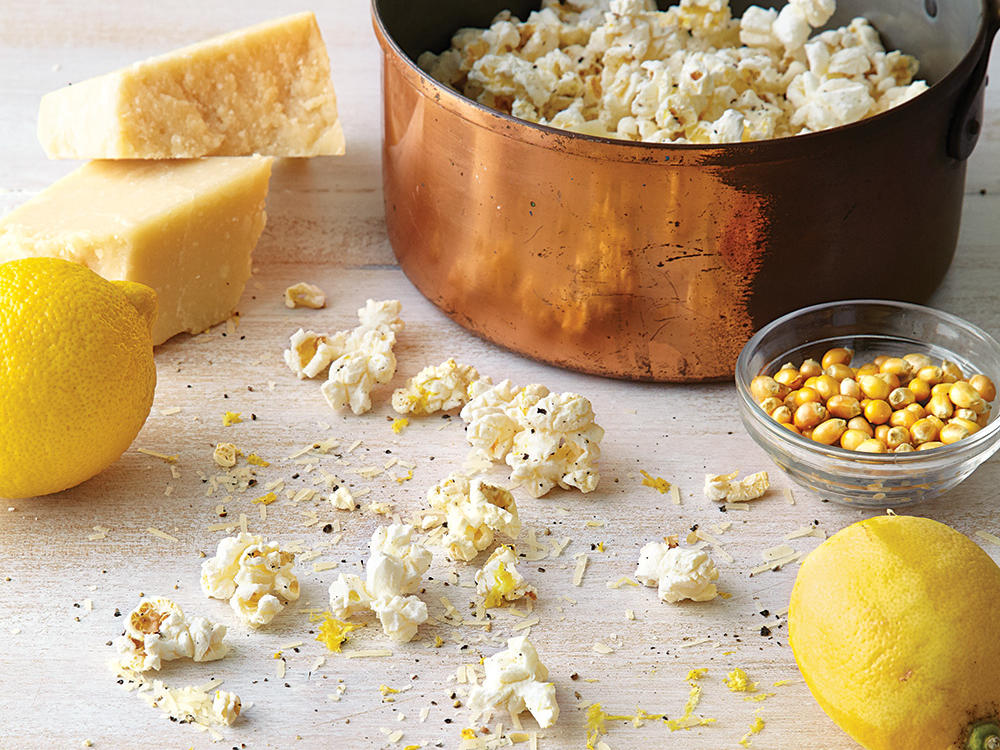A handful of ingredients (and far less salt) gives you better-tasting flavored popcorn than you can buy. To make sure the oil is ready for the popcorn, add a couple of kernels and wait for them to pop. Once they pop, add the remaining kernels.