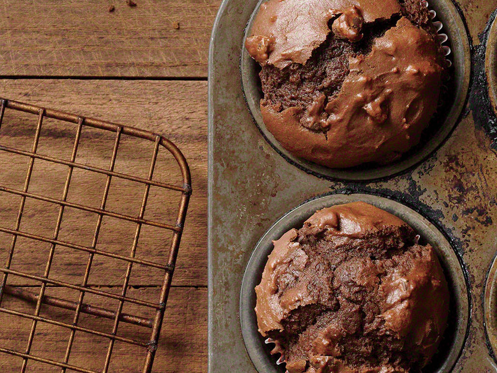 Triple-Chocolate Muffins
