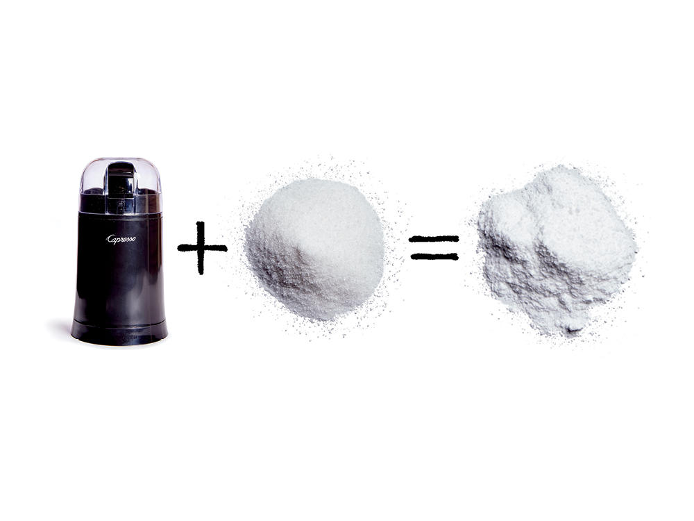4. Make Powdered Sugar