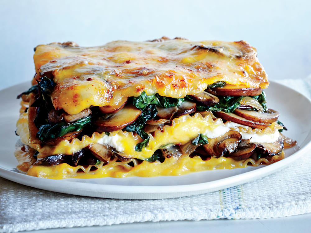 Recipe Makeover Lighter Vegetable Lasagna Cooking Light