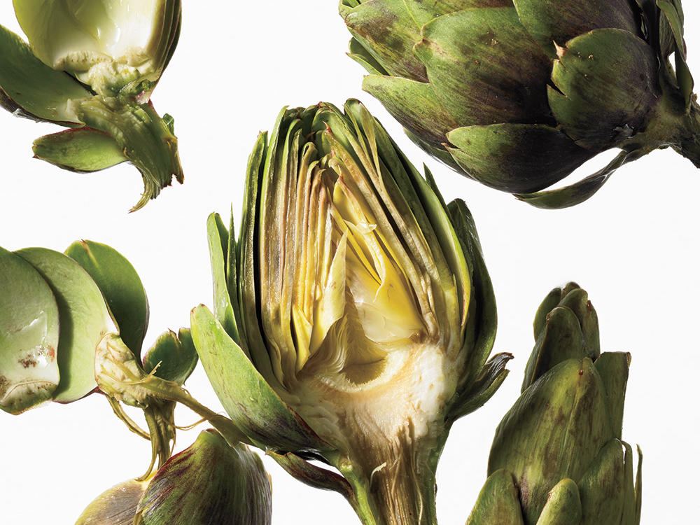 Spring Vegetables and Fruits: Artichokes