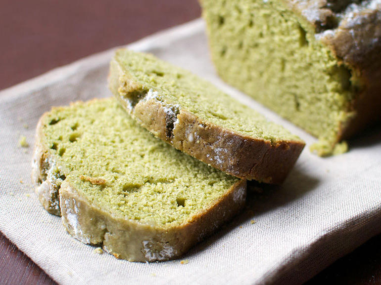 You can mix matcha powder into almost any dessert, from cookies to cupcakes to ice cream. It pairs very well with a light and fluffy vanilla cake. Plus, it's perfect for St. Patrick's Day. Enjoy!