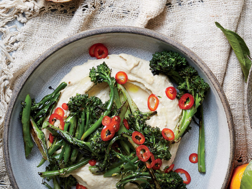 Charred Broccolini with Chiles