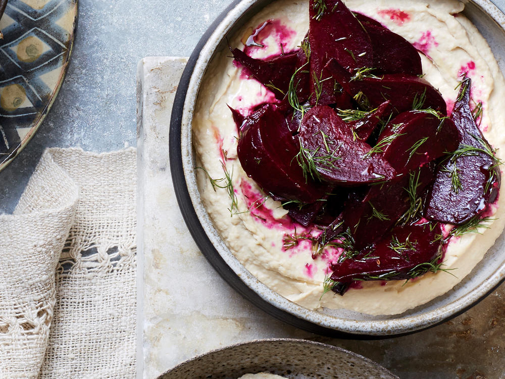 Roasted Beets with Dill