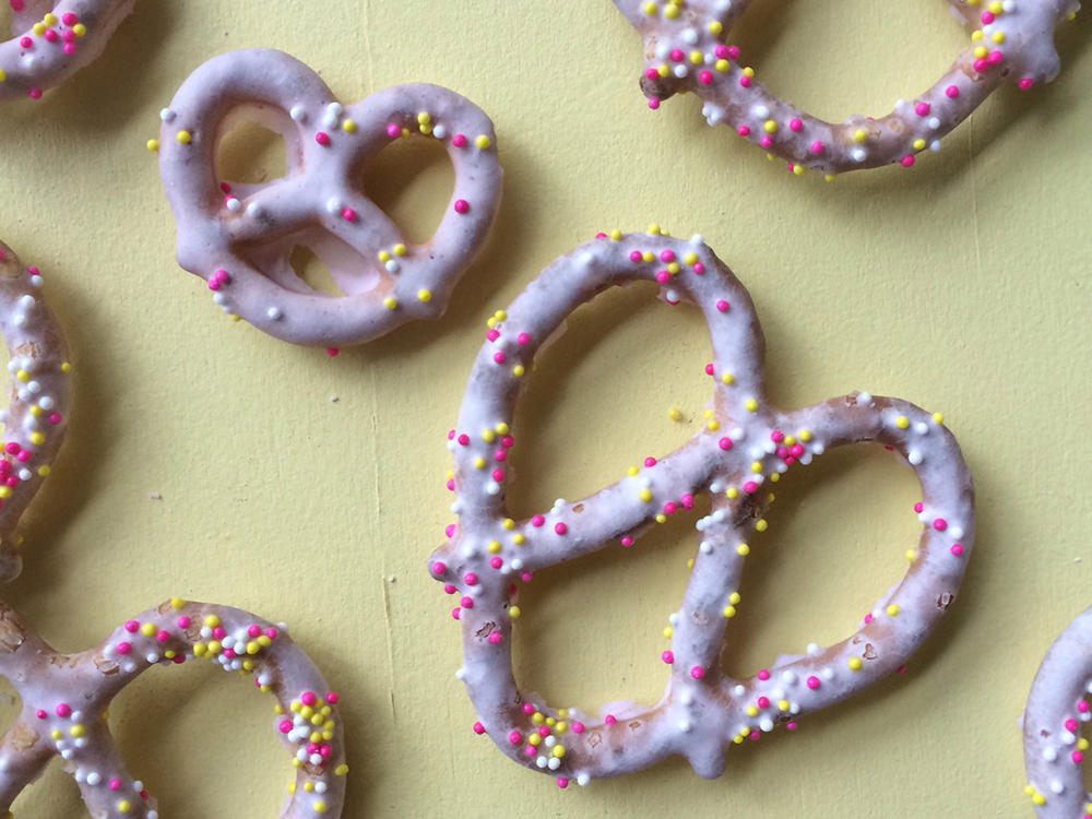 Yogurt-Covered Pretzels
