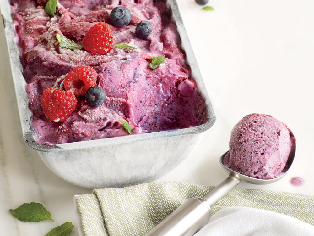 Frozen Berry Yogurt