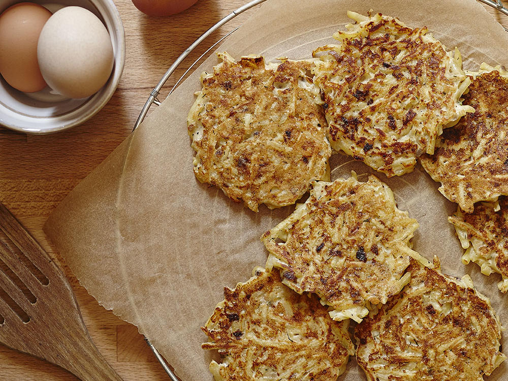 Hidden Valley Greek Potato Fritters