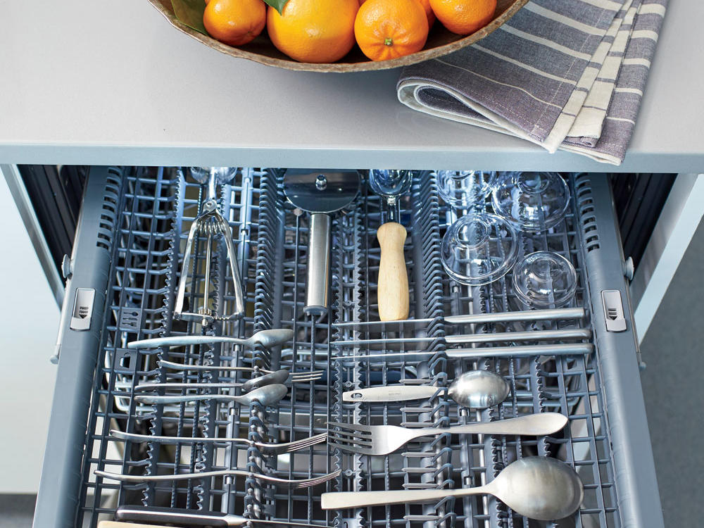 Keep It Separate: Dishwashers with a Third Rack