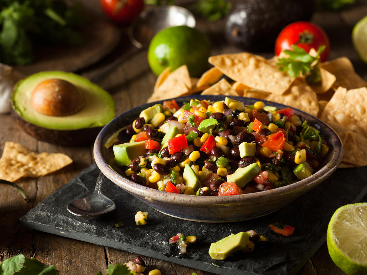 Homemade Texas Caviar Bean Dip (Getty)