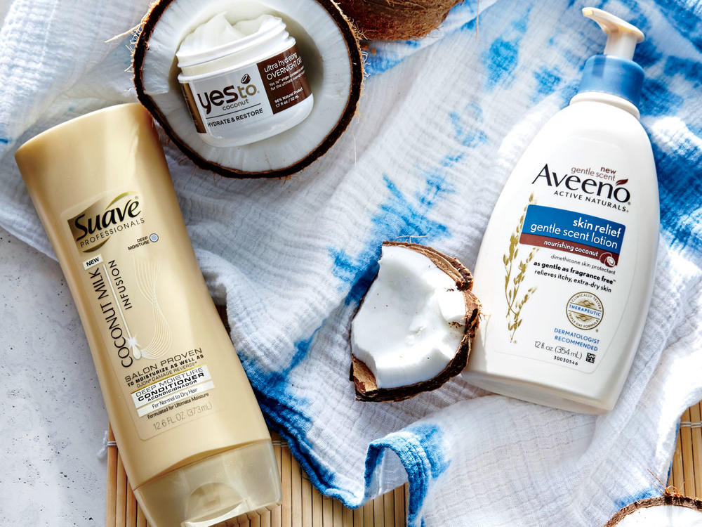 Coconut Beauty Products 2