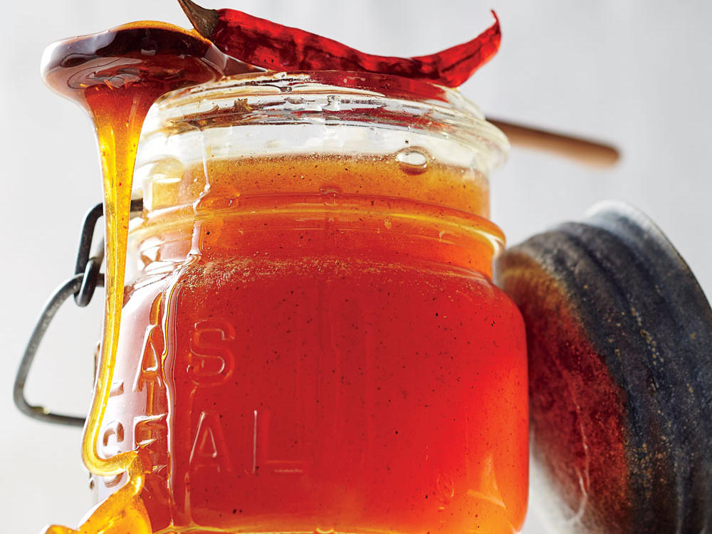 Chile-Infused Honey