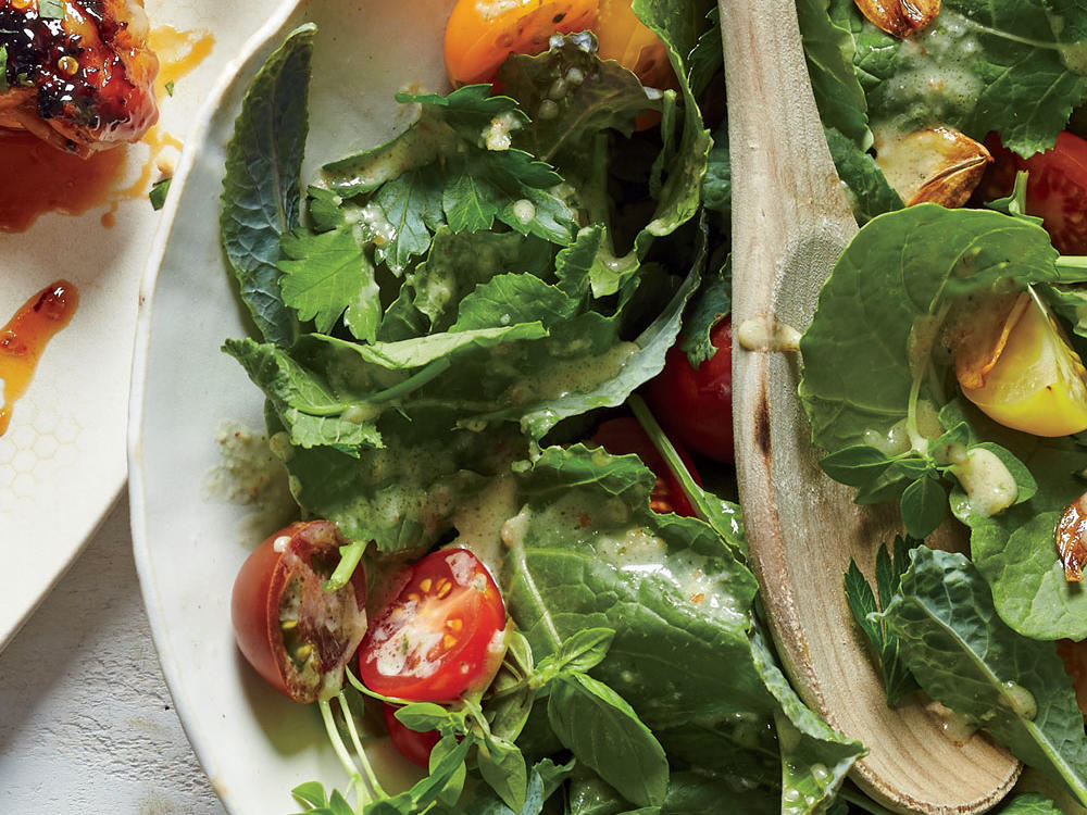 Kale Salad with All-Day Everyday Dressing