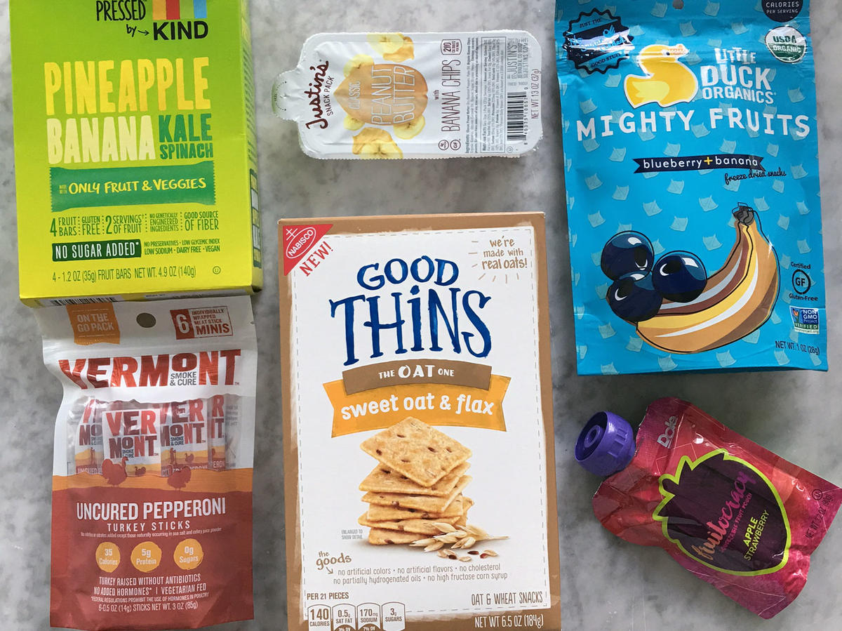snack foods that are low in saturated fat and sugar