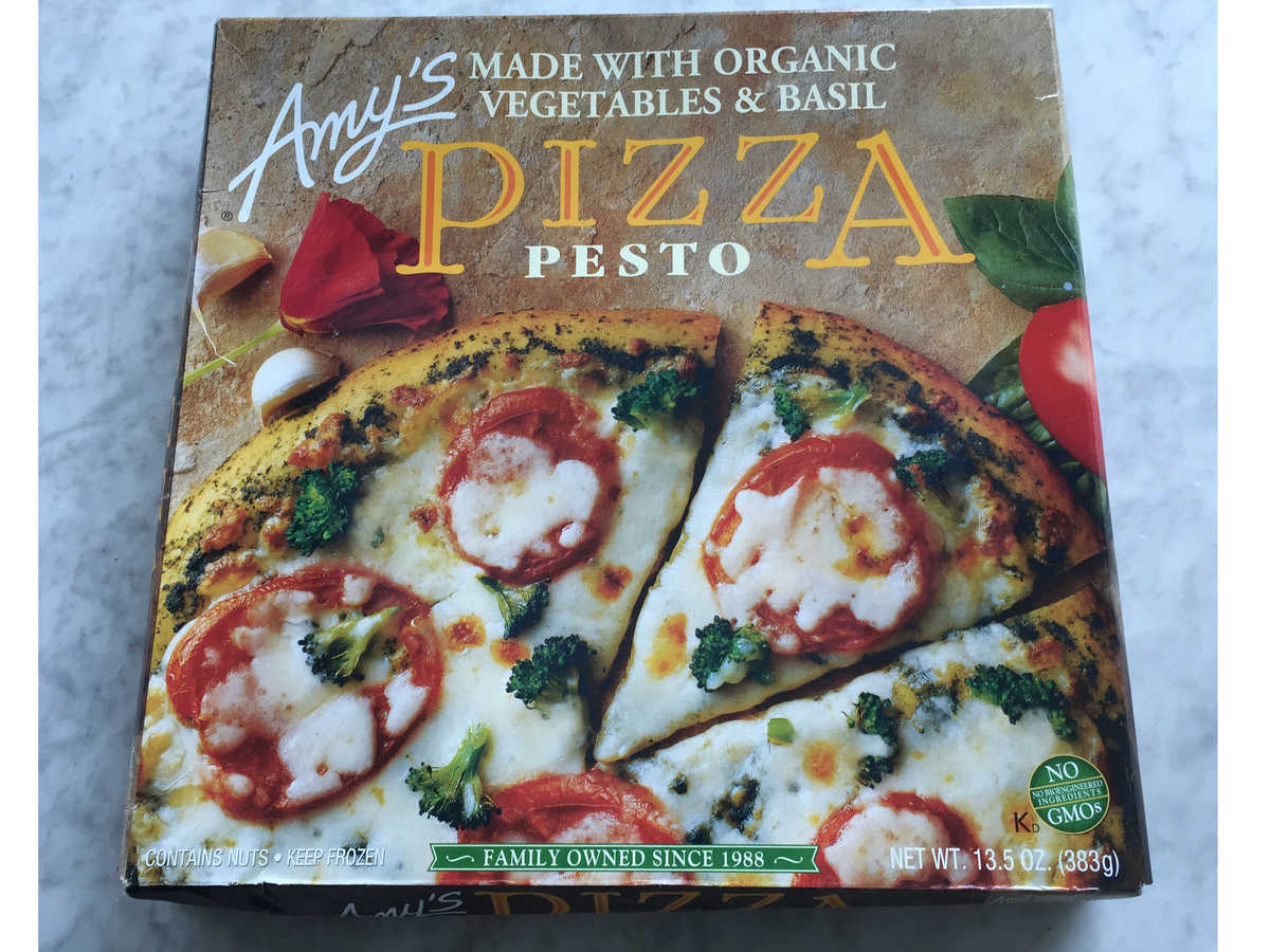 Amy's Pesto Pizza