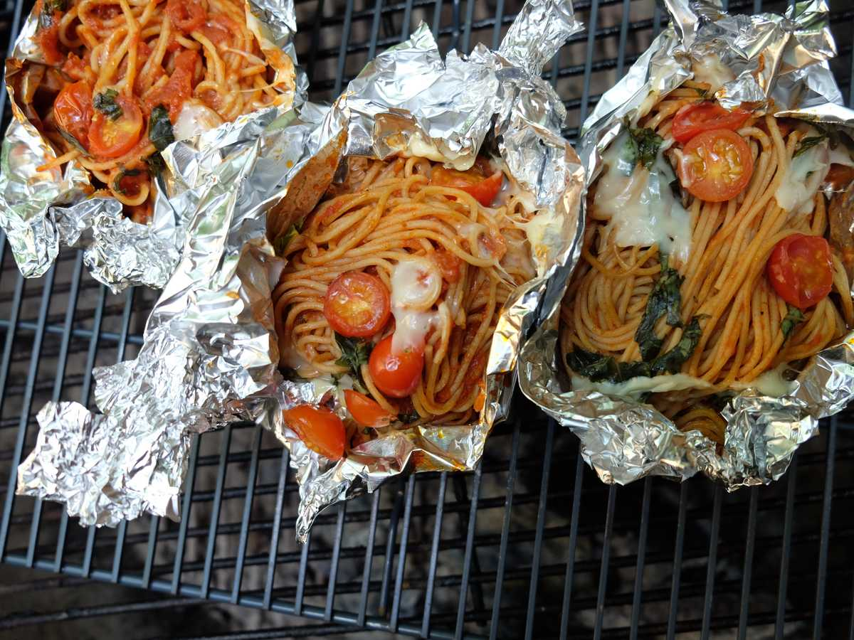 Campfire Pasta Packets