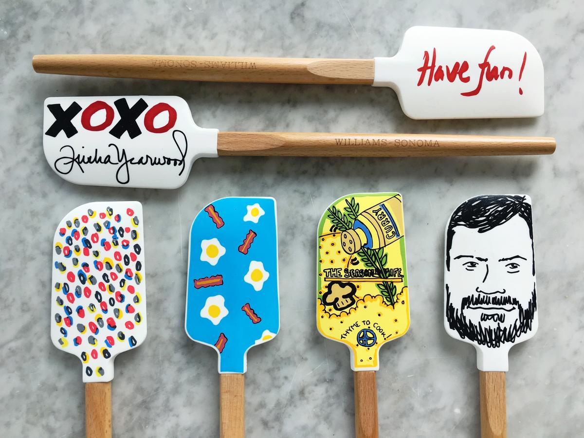 Giving Back in the Kitchen: Celebrity-Designed Spatulas Raise Money to Fight Childhood Hunger
