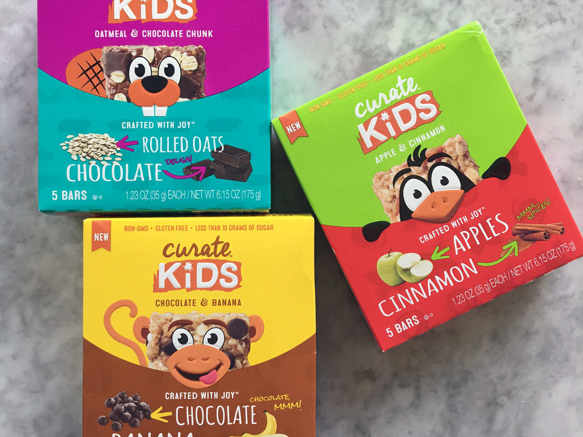Curate Kids Snack Bars