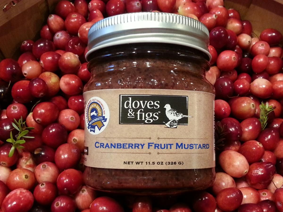 Good Food: Doves & Figs Cranberry Fruit Mustard