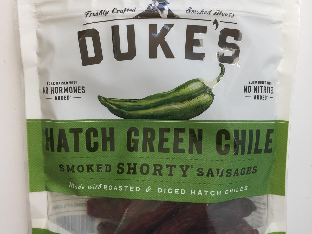 Duke's Hatch Green Chile Smoked Sausages