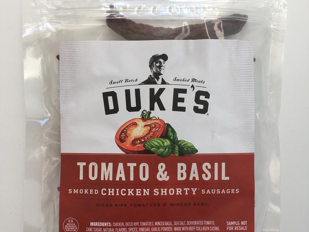 Duke's Tomato and Basil Smoked Sausages