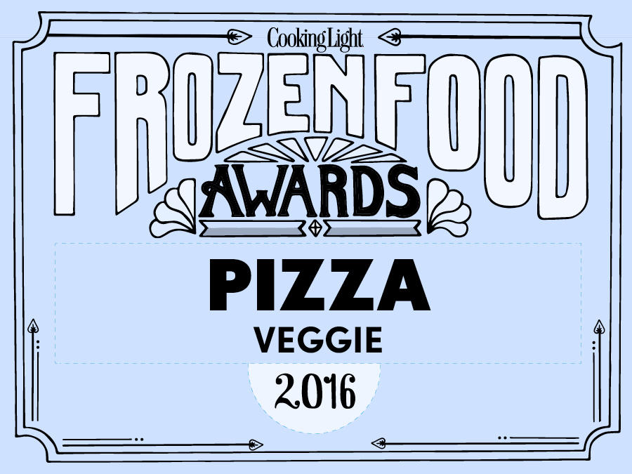 Frozen Food Awards Veggie Pizza