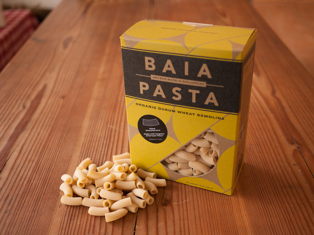 Good Food: Baia Pasta Durum Wheat Semolina Macs