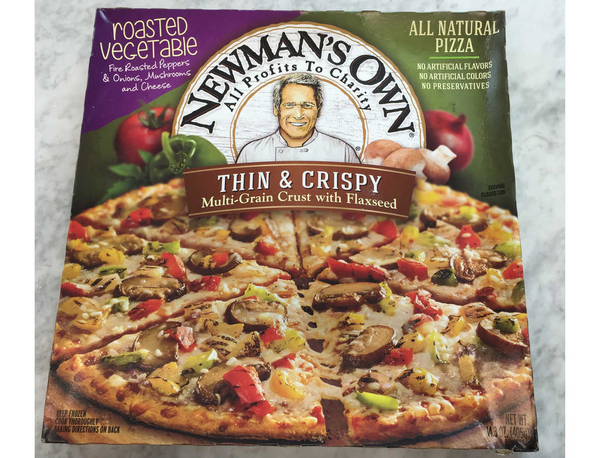 newmans own frozen pizza