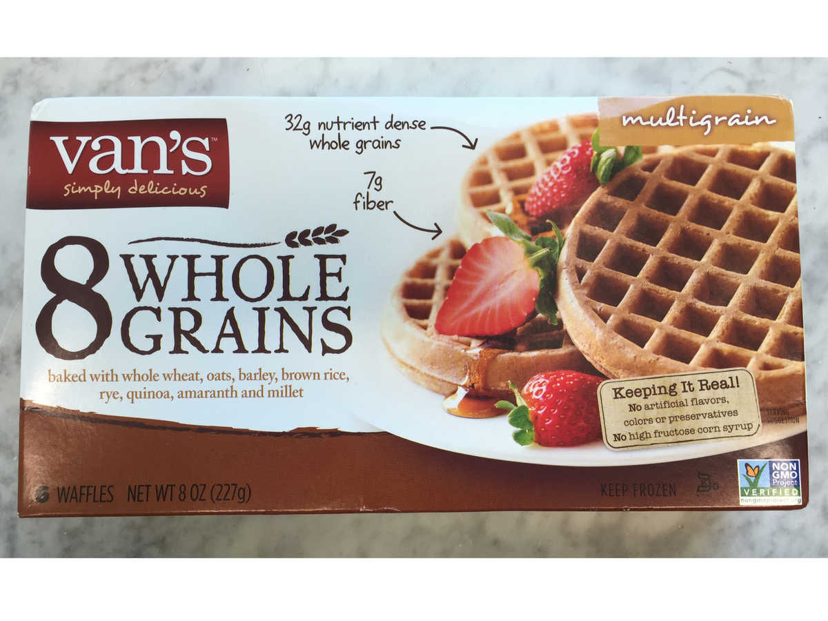 Van's 8 Whole Grains Waffles