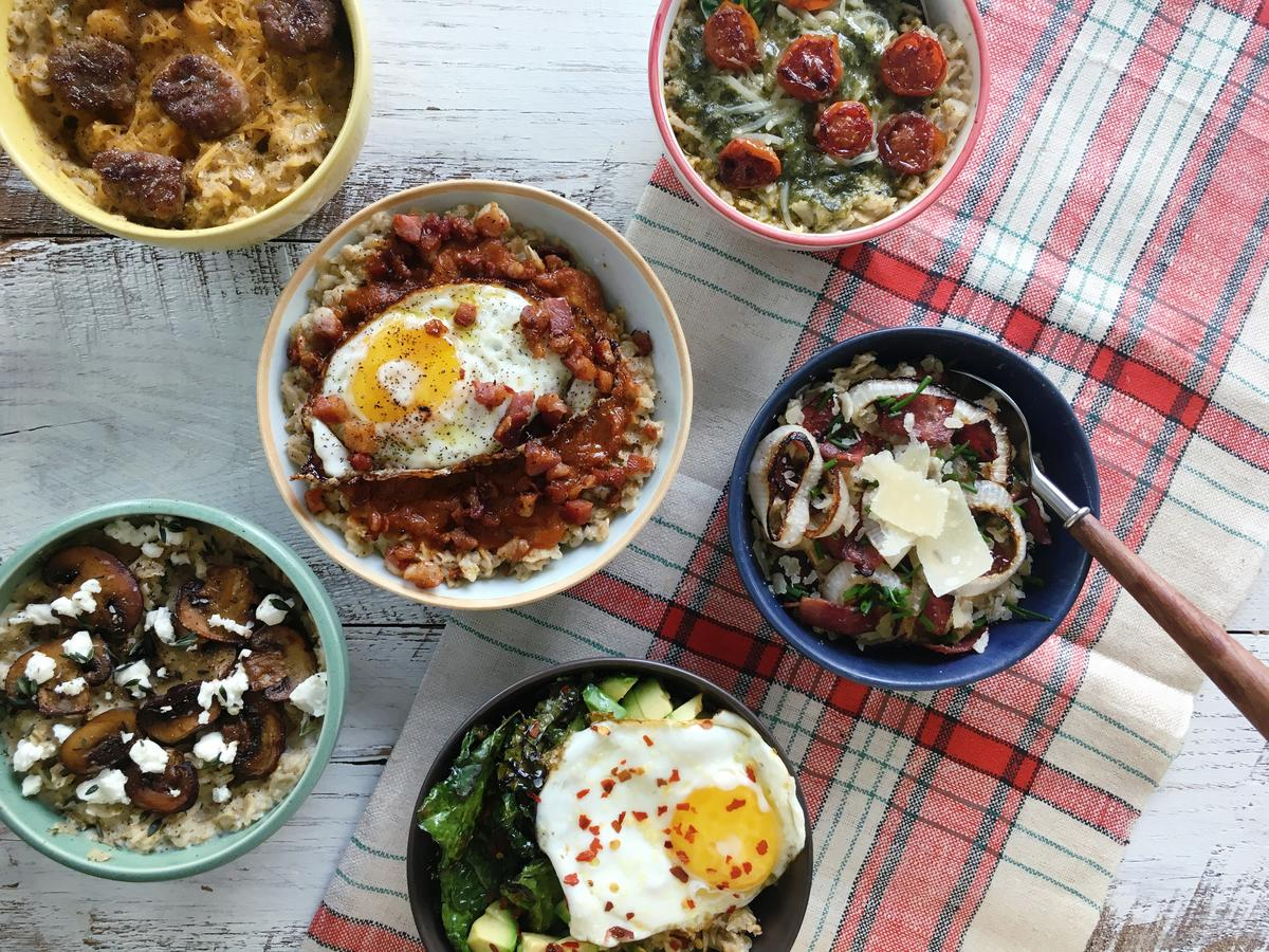 6 Deliciously Savory Ways to Dress Up Oatmeal