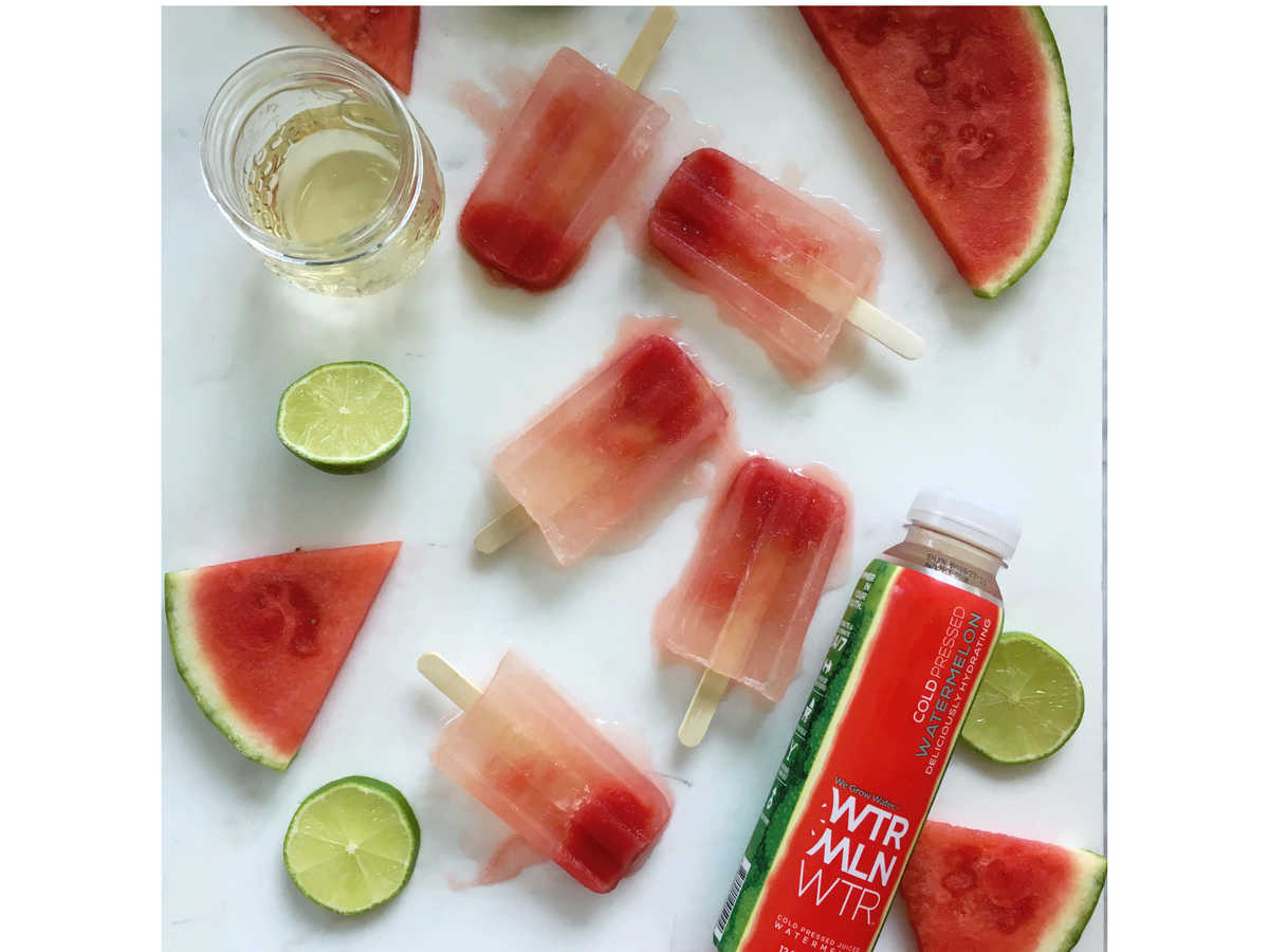 watermelon three ingredient pop tequila image