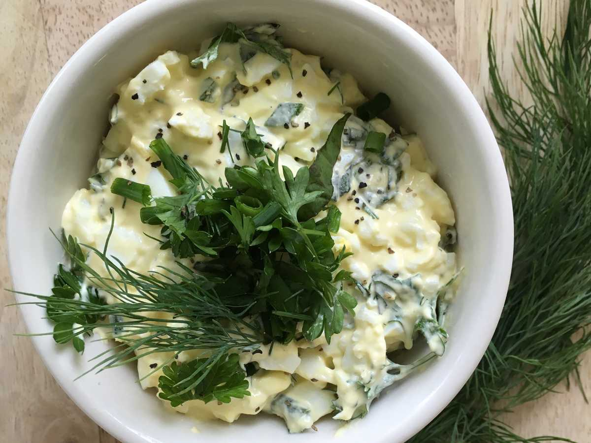 Herb Egg Salad