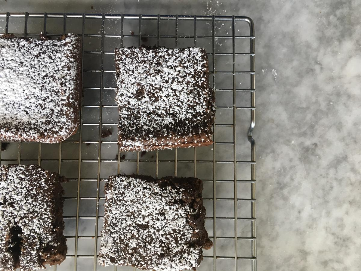 Flourless Peppermint Brownie 2