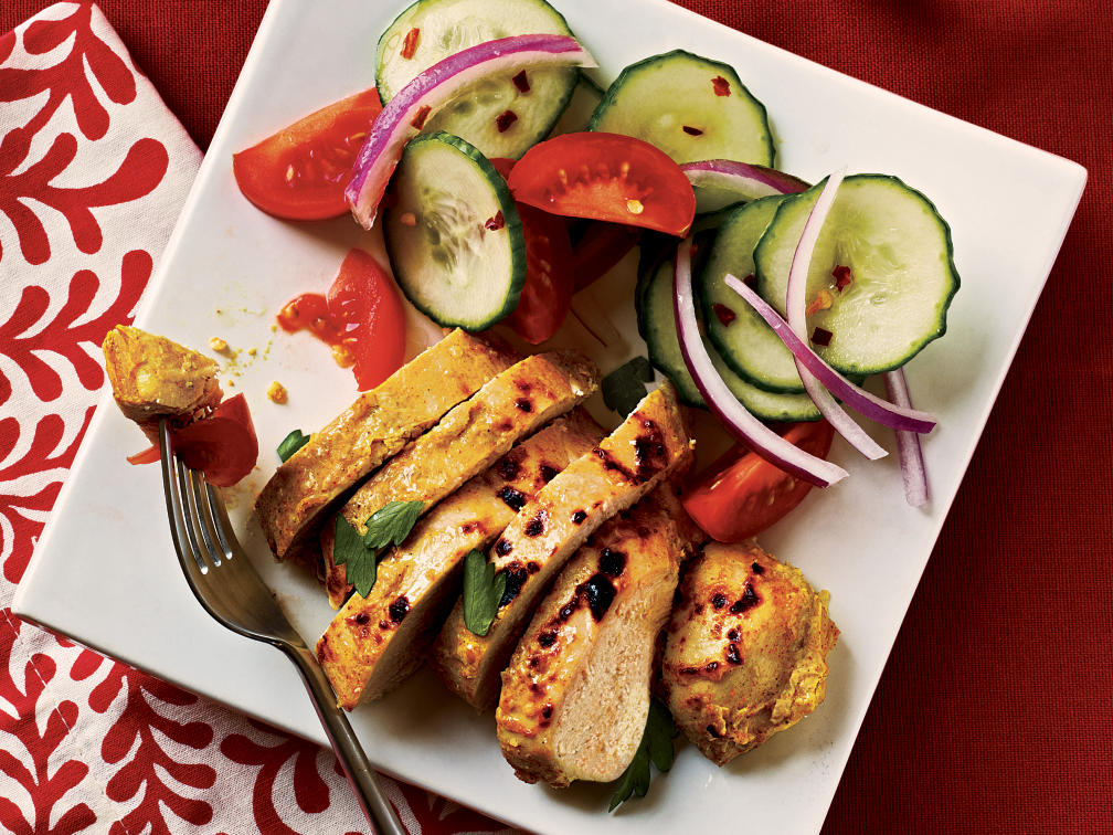 Tandoori-Spiced Chicken Recipe
