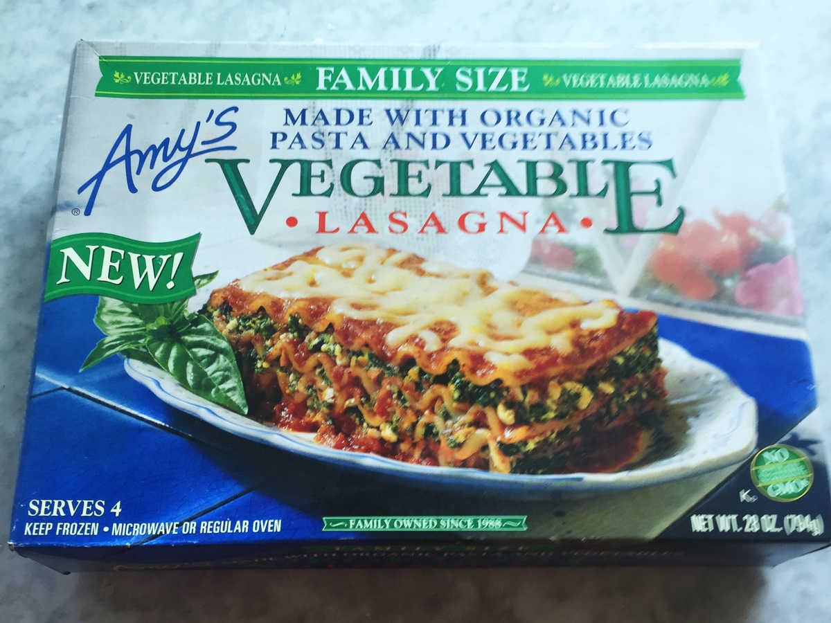 Amy's Family Vegetable Lasagna