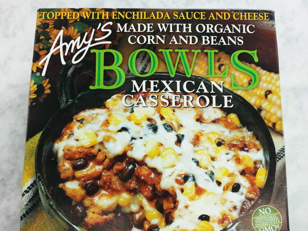 Frozen Food Amys Mexican Casserole