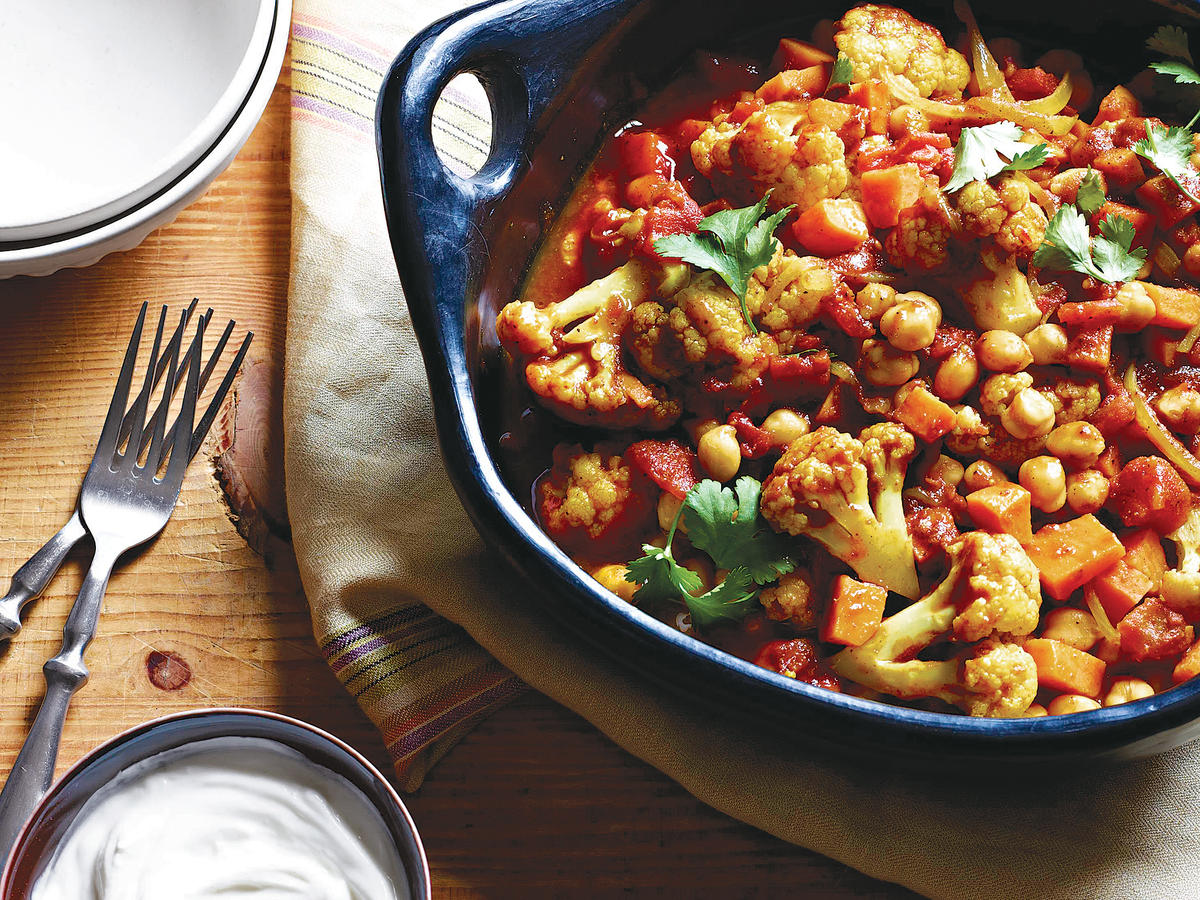 Embrace Indian flavors by making this vegetarian meal that only takes 30 minutes from start to finish.