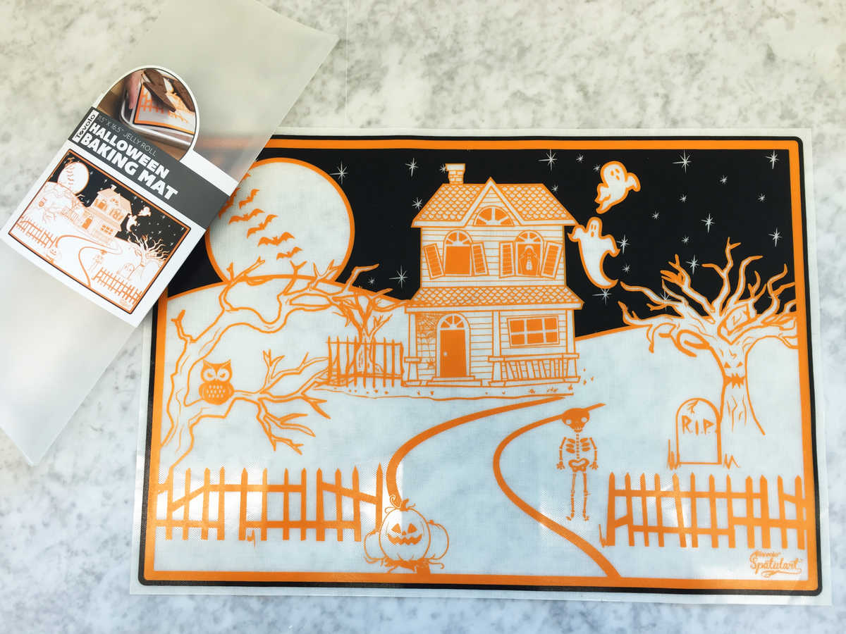 Halloween Hostess Baking Mat