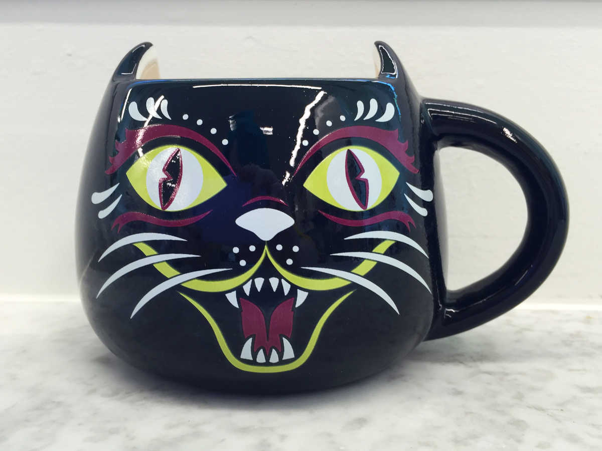Halloween Hostess Cat Mug