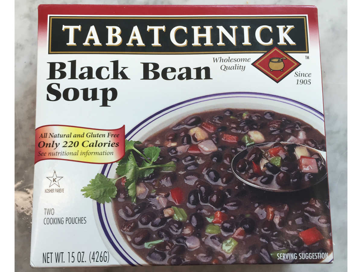 Frozen Food Tabatchnick Black Bean Soup