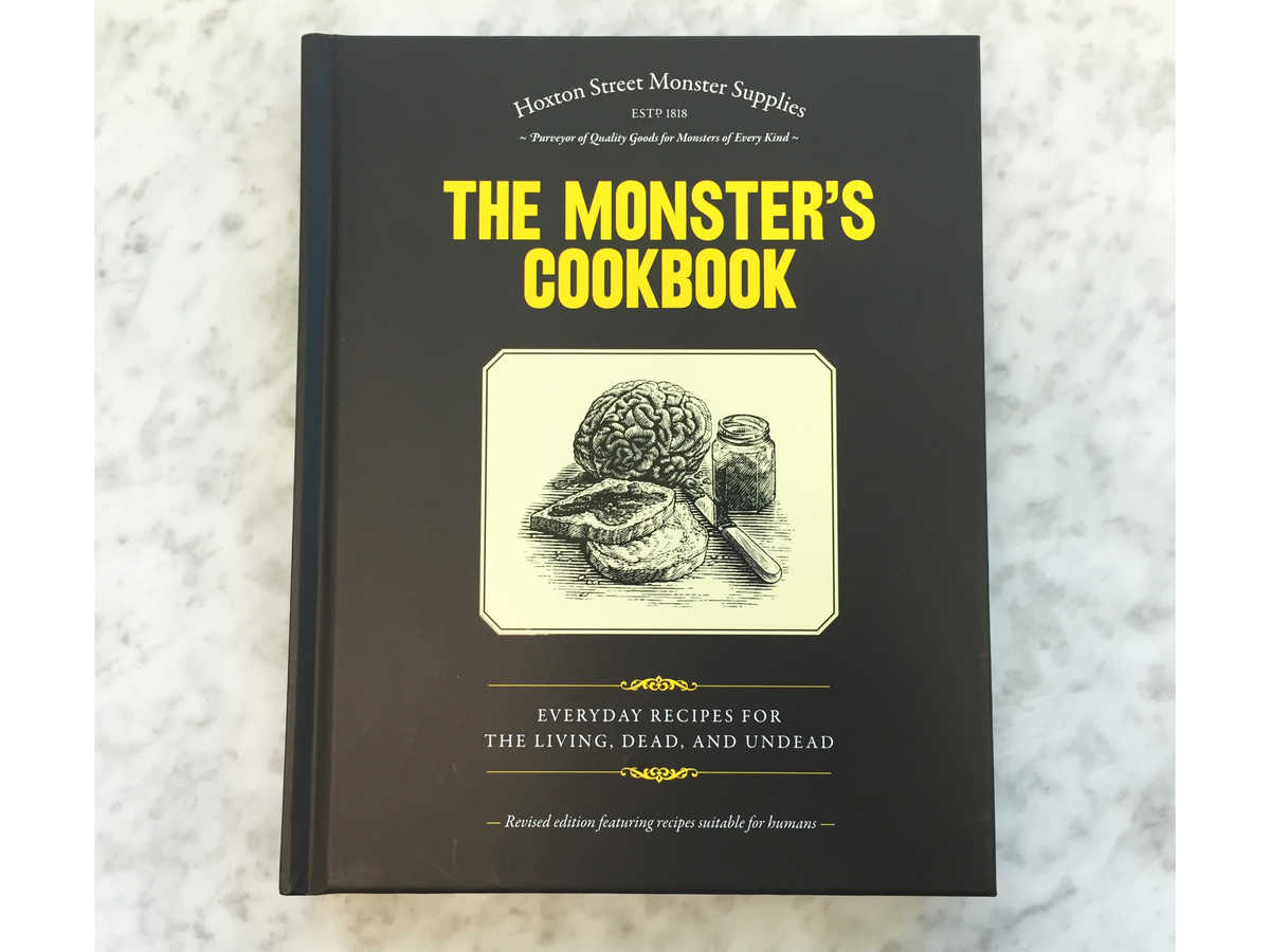 Halloween Hostess Monsters Cookbook