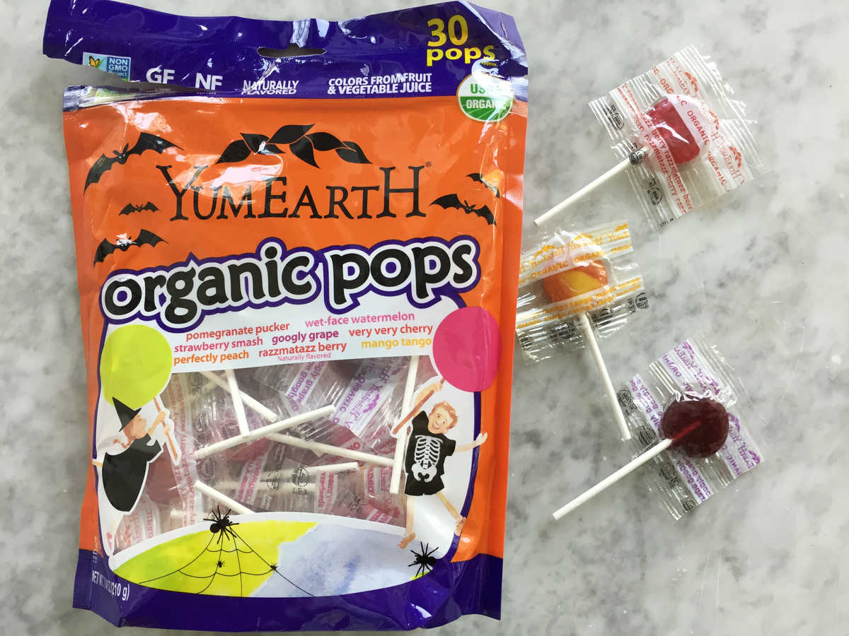 Halloween Yum Earth Organic Pops