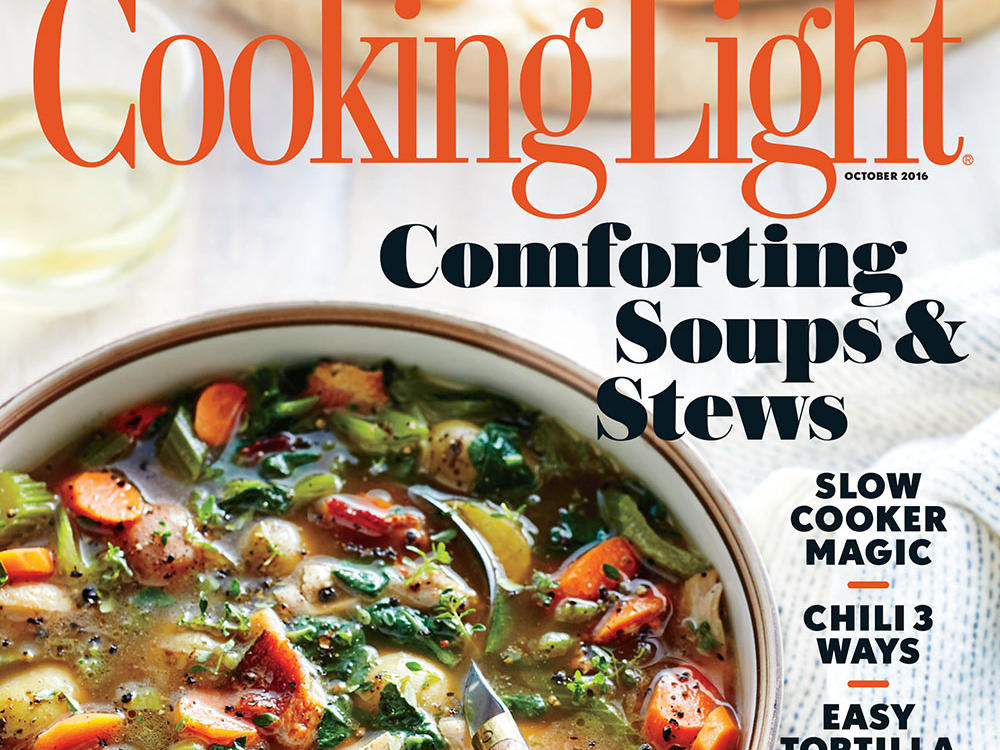 October 2016 recipe index cooking light for October recipes