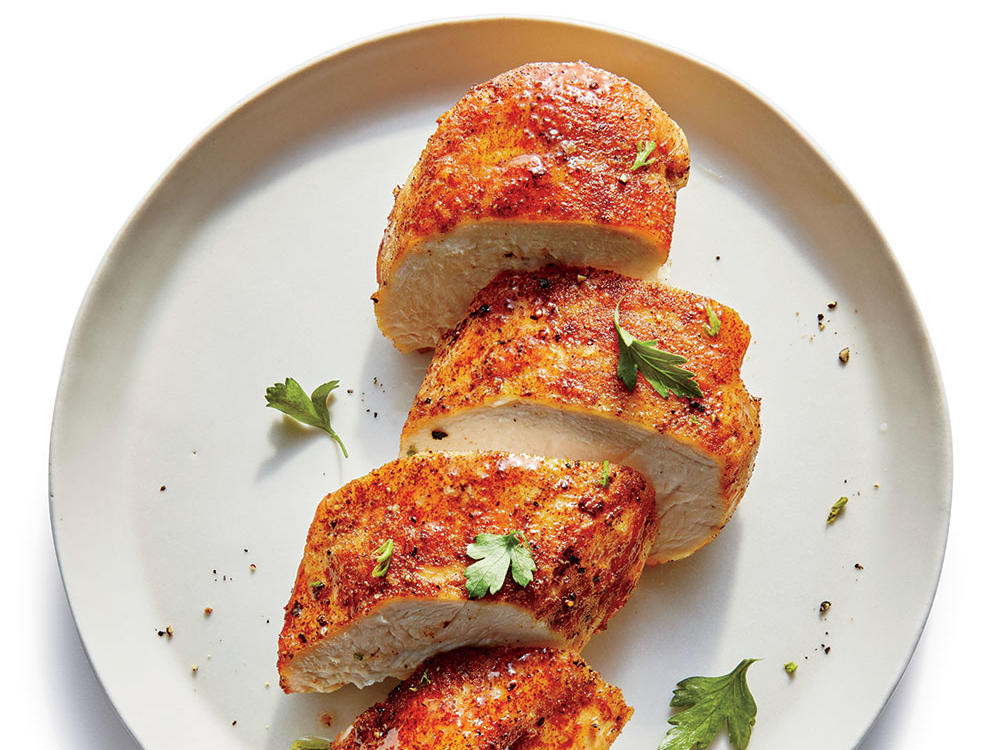 Protein: Smoky Pan-Seared Chicken Breasts