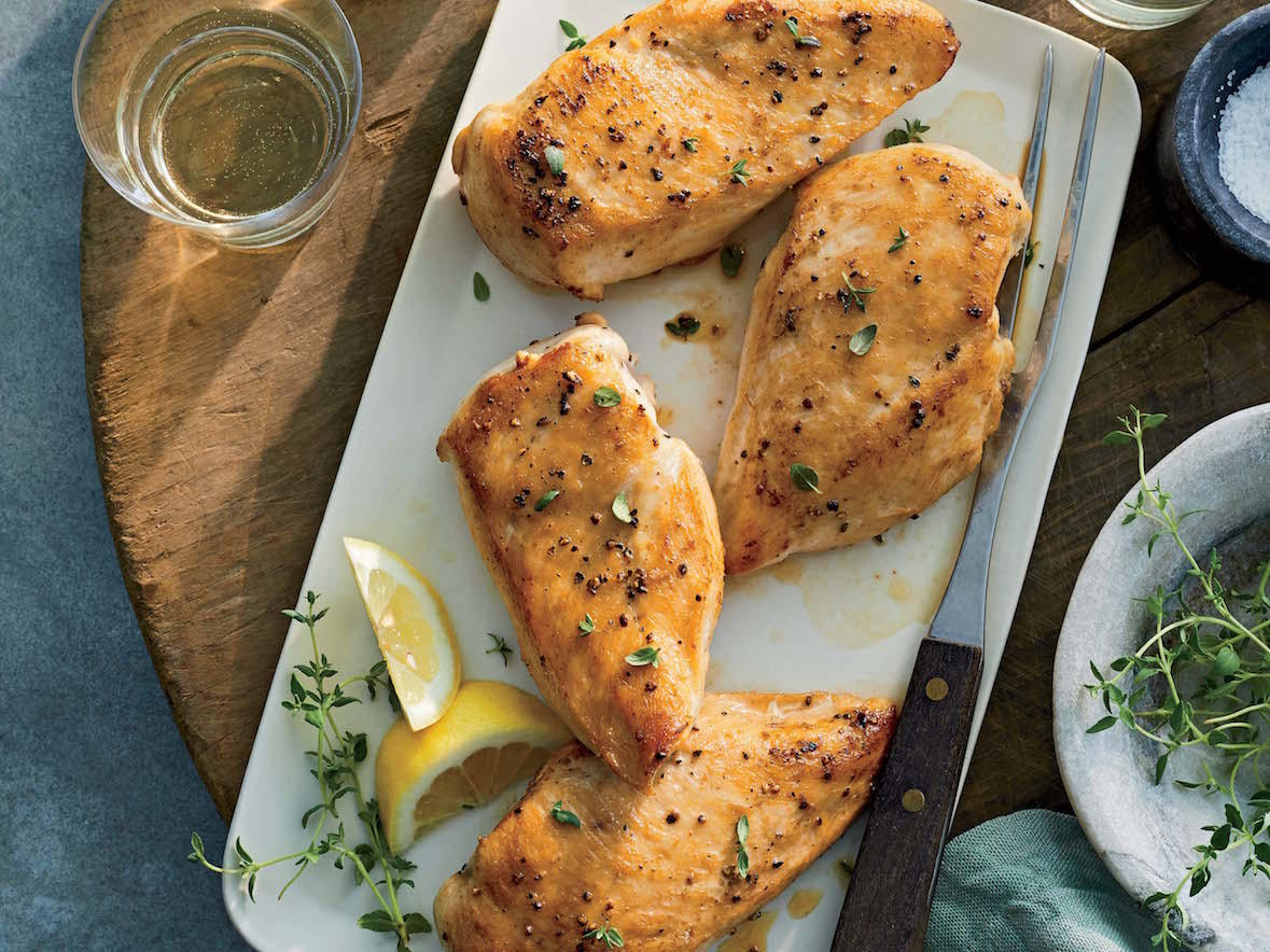 Perfect Pan-Seared Chicken Breasts