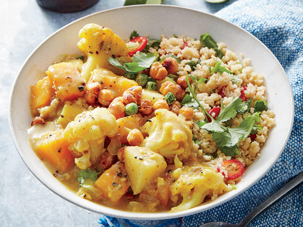 Butternut-Cauliflower Coconut Curry
