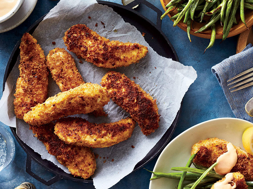 Chicken Finger Recipes Cooking Light